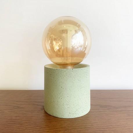 Lampe Pylone vert amande