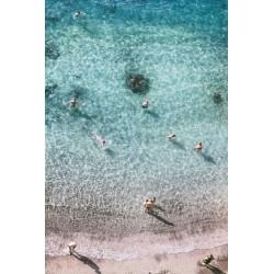 Affiche Sorrento beach 30 x 40 cm