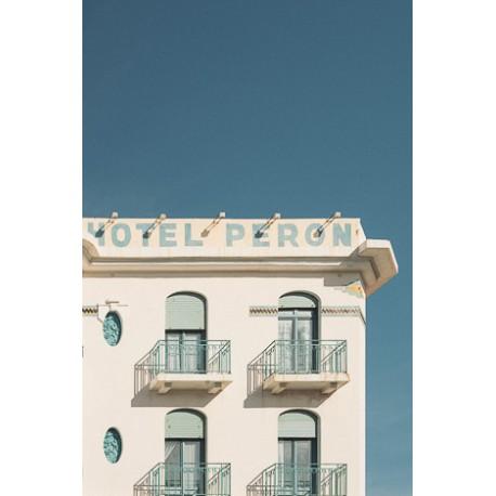 Affiche Hôtel Péron 30 x 40 cm