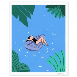 Illustration On the water par Lorraine Sorlet