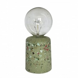 Lampe Vase terrazzo Olive