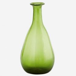 Petit vase en verre vert Madam Stoltz