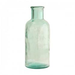 Vase bouteille en verre recyclé HK Living