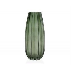 Vase palmier vert grand format