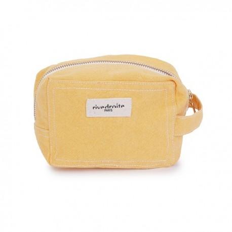 Trousse maquillage Tournelles Yellow Golden Latte