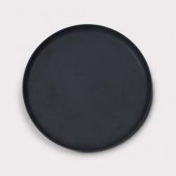 Assiette noire Brooklyn Ø26cm