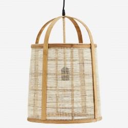 Suspension en bambou et lin