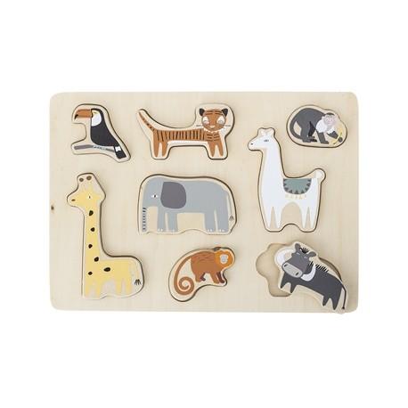 Puzzle animaux pour les petits