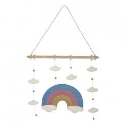 Mobile arc-en-ciel pour enfants