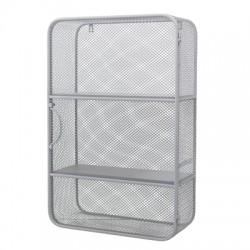 Cabinet en métal gris pour enfants