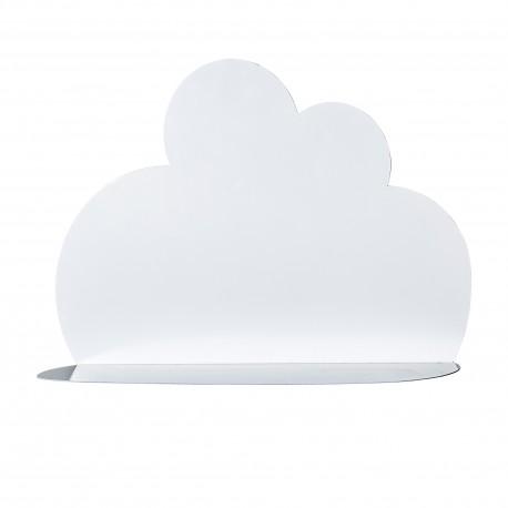 Étagère murale nuage blanc