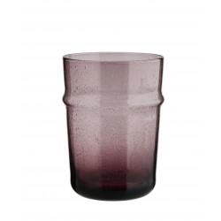 Verre à eau Beldi violet