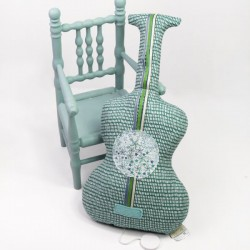 Guitare musicale A bicyclette
