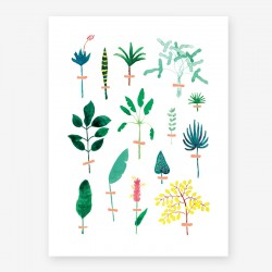 affiche herbier all the ways to say