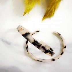 Bracelet en acétate blond tortoise