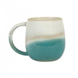 Mug en dégradé turquoise