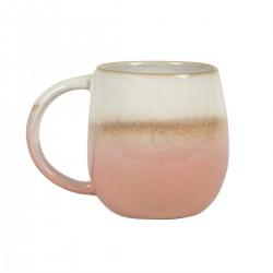 Mug en dégradé rose