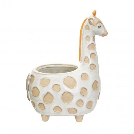 Pot de fleurs Girafe
