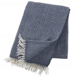 Plaid 100% laine Stella smokey blue