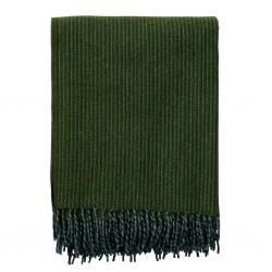 Plaid 100% laine Shimmer vert