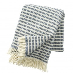 Plaid 100% laine Olle Smokey Blue