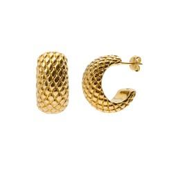 Boucles d'oreilles Volcano gold