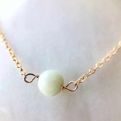 Bracelet Morganite Emerald plaqué or 18k