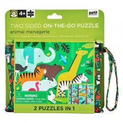 Puzzle de voyage Les animaux de la ménagerie