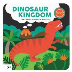Set de jeu magnétique dinosaures