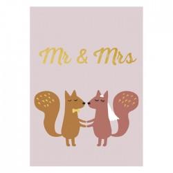Carte Mr & Mrs