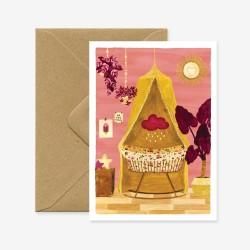 Carte Landau rose