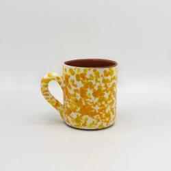 Mug en céramique Chroma max jaune et orange