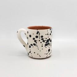 Mug en céramique Salpico noir