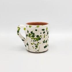 Mug en céramique Chroma min vert et vert clair