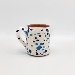 Mug en céramique Chroma min bleu et bleu clair