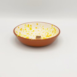 Bol en céramique Chroma min jaune et orange