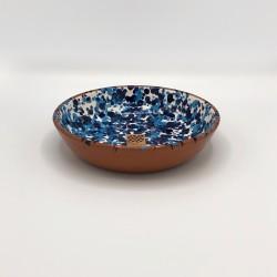 Bol en céramique Chroma max bleu et bleu clair