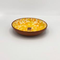 Bol en céramique Chroma max jaune et orange