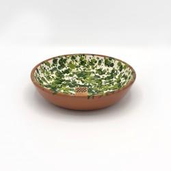 Bol en céramique Chroma max vert et vert clair