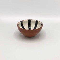 Petit bol en céramique Ray noir