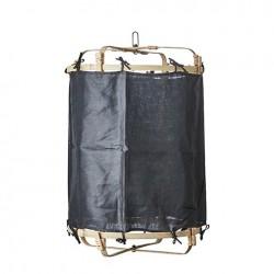 Suspension shade en lin noir