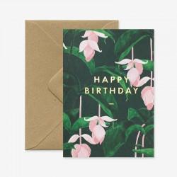 Carte Happy Birthday Medinilla