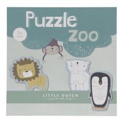 Puzzles des animaux du zoo