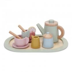 Service à thé en bois Little Dutch