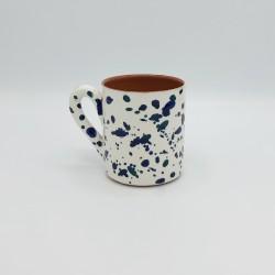 Mug en céramique Chroma min bleu et bleu canard