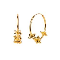 Boucles d'oreilles Margaret gold