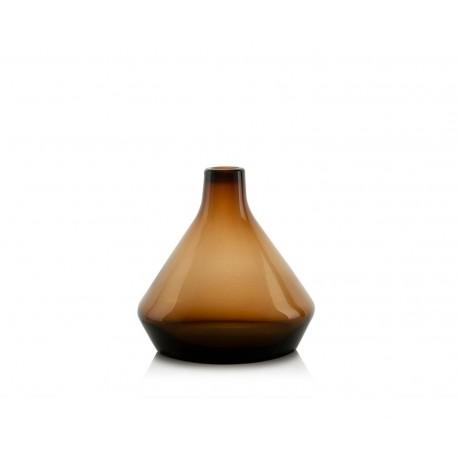 Vase tajine en verre marron