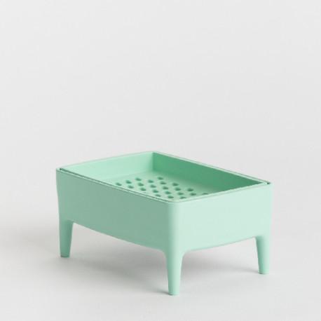 Porte-savon Bubble Buddy vert menthe
