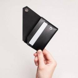 Portefeuille Lemur Design Noir