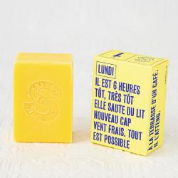 Savon Lundi : Litsée citronnée & cyprès